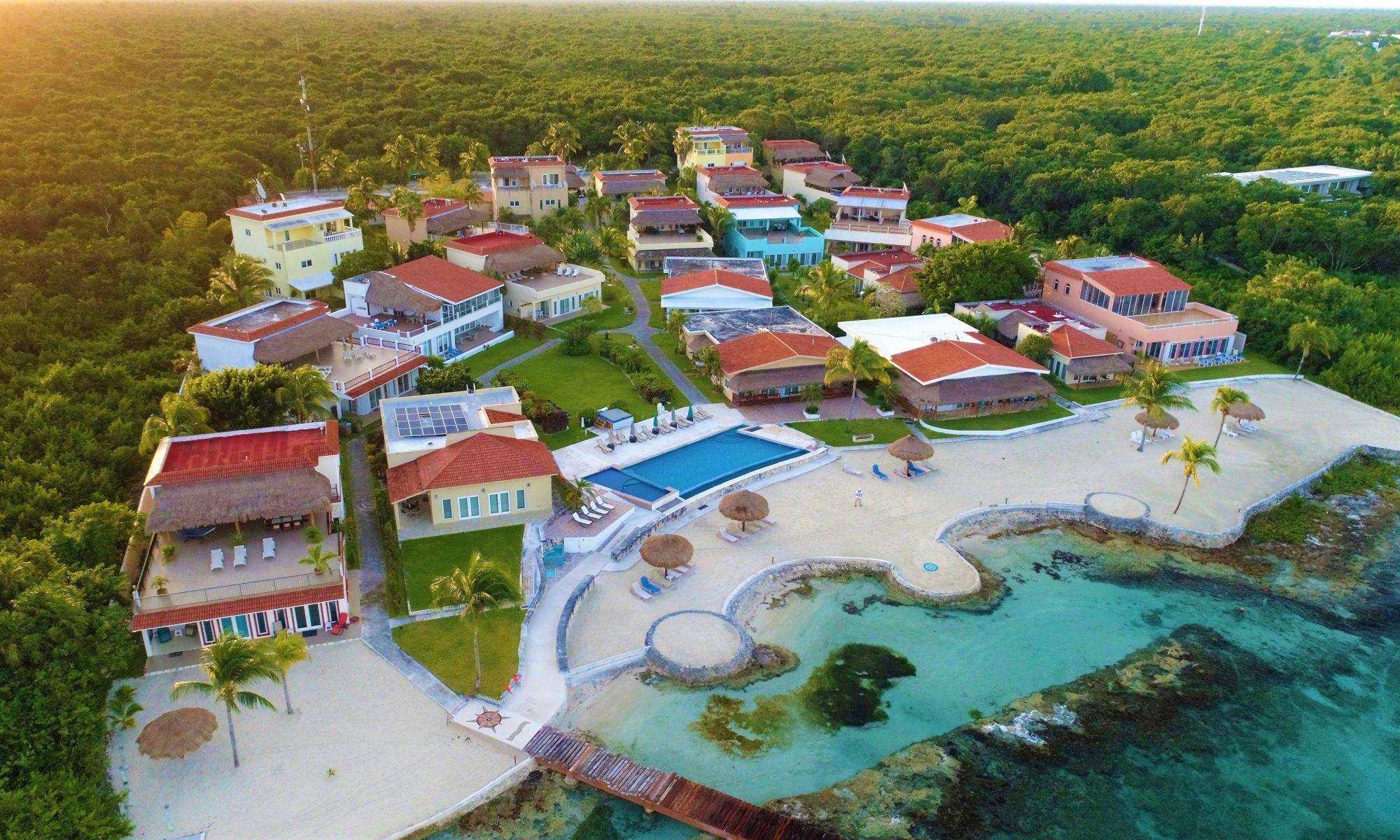 Costa Del Sol Cozumel  Beachfront Community